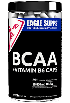 BCAA + Vitamin B6 Caps