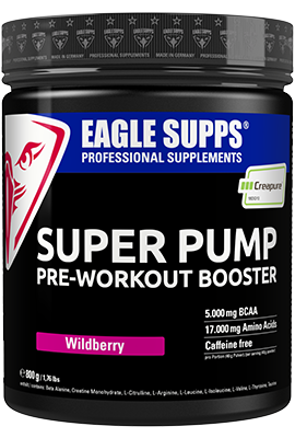 Super Pump Pre Workout Booster